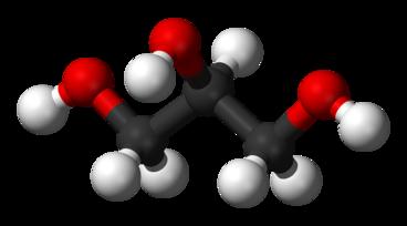 Glycerol molecula