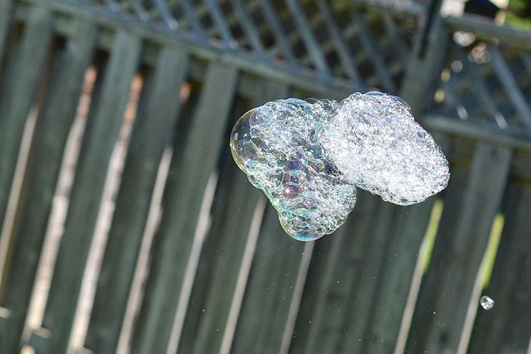 nube burbujas