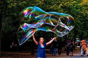 burbujas gigantes jabon en casa