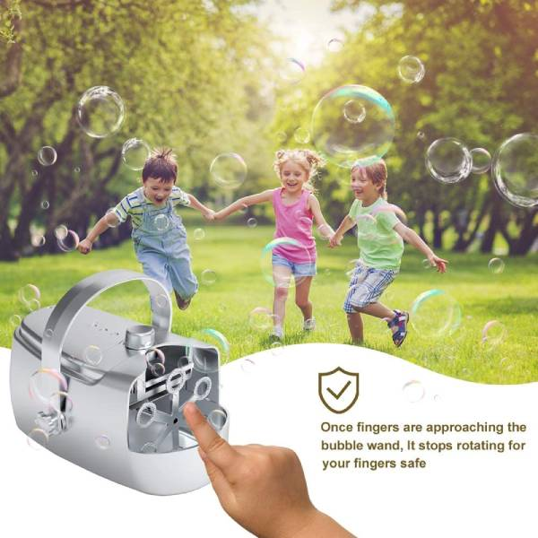 bonbell maquina burbujas inalambrica